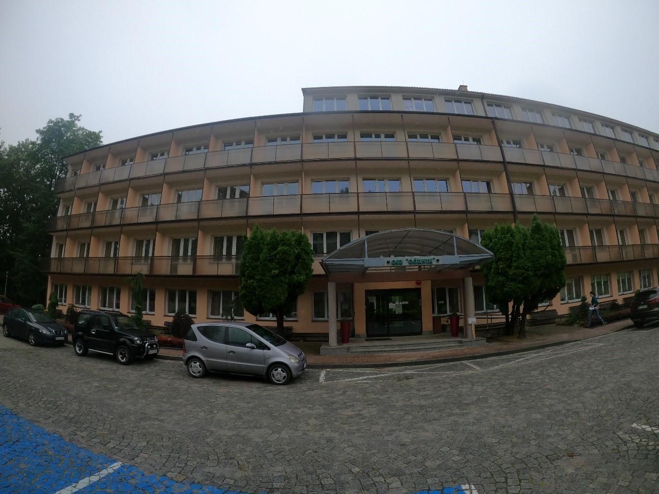 Wykonanie audytu energetycznego budynku Sanatorium Górnik. Kubatura: 27 tyś m3. Powierzchnia: 9194 m2
