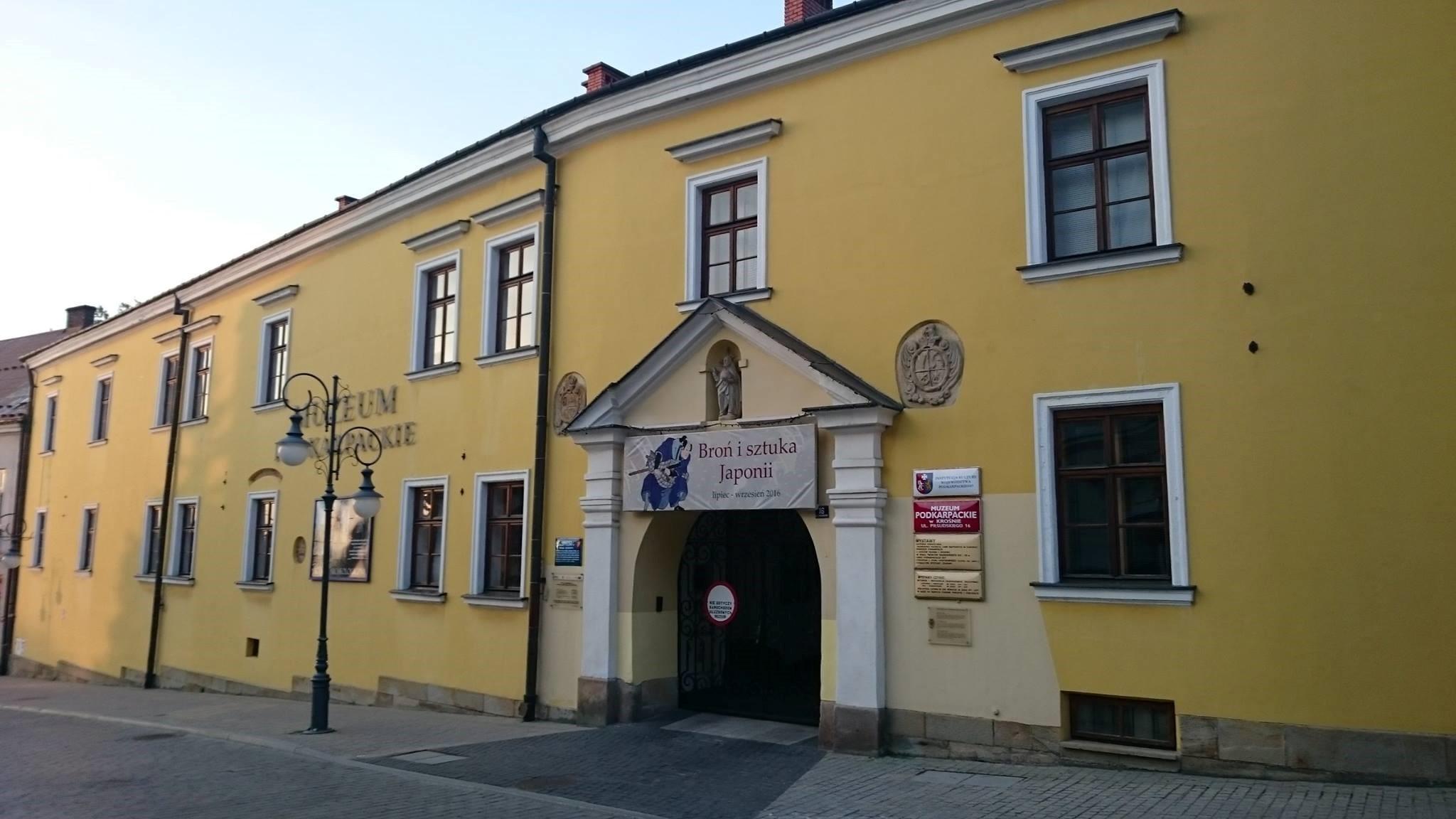 Muzeum Podkarpackie w Krośnie.