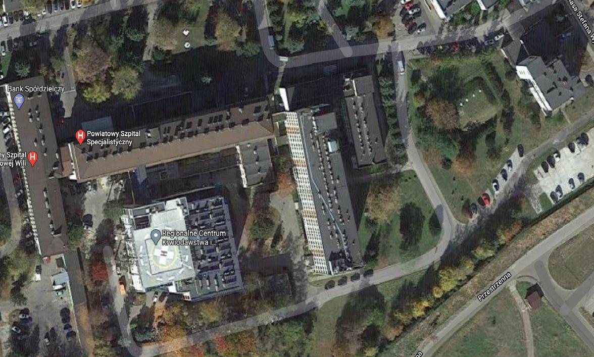 Wykonanie audytów energetycznych dla zespołu 12 obiektów Szpitala w Stalowej Woli