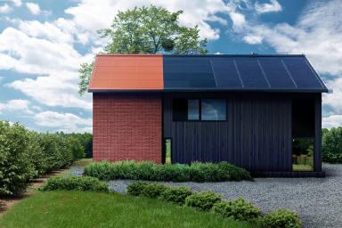 Wielkopolska - Budynek mieszkalny Roczna produkcja energii elektrycznej: 7 330 kWh