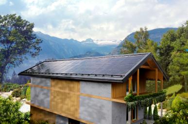 Termen, Szwajcaria - Budynek mieszkalny Roczna produkcja energii elektrycznej: 16 300 kWh