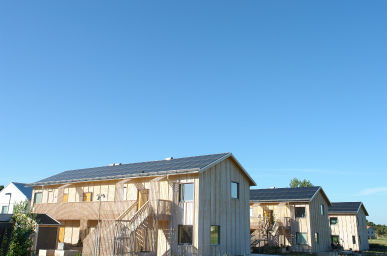Tångeröd, Szwecja - Spółdzielnia mieszkaniowa Roczna produkcja energii elektrycznej: 57 000 kWh